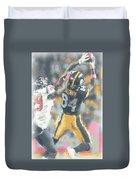 Pittsburgh Steelers Antonio Brown 2 Duvet Cover
