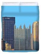 Pittsburghs Big Three Duvet Cover