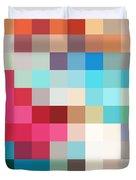 Pixel Art 2 Duvet Cover
