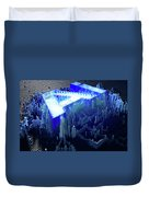 Pixel Artificial Intelligence Duvet Cover