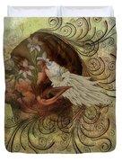 Pixie Flora Duvet Cover