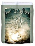 Pixie Smoke Duvet Cover