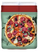 Pizza - The Corleone Special Duvet Cover