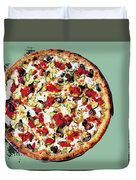 Pizza - The Guido Special Duvet Cover