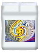 Pizzazz 25 Duvet Cover