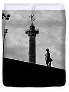 Place De La Bastille - Paris. Duvet Cover