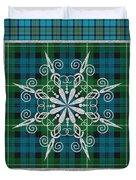 Plaid Snowflakes-jp3704 Duvet Cover