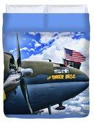 Plane - Curtiss C-46 Commando Duvet Cover