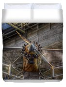 Spirit Of St Louis Propeller Airplane Duvet Cover