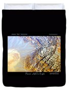 Planet Earth Eight Duvet Cover