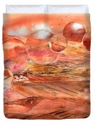Planet Earth - Save Our Deserts Duvet Cover
