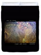 Planet Earth Seven Duvet Cover
