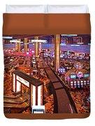 Planet Hollywood Casino Duvet Cover