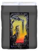 Planet Of Anomalies Duvet Cover