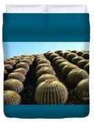 Planet Of Cactus Duvet Cover