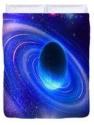 Planetary Galactic Duvet Cover