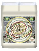 Planetary Orbits, Harmonia Duvet Cover by Science Source