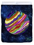 Planets 4 5 6 Astronomy Duvet Cover