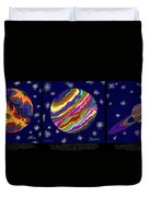 Planets 4 5 6  - Science Duvet Cover