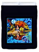 Planets Image Four Duvet Cover
