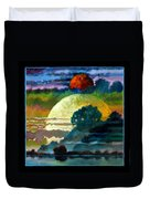 Planets Image One Duvet Cover