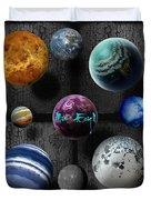 Planets Duvet Cover