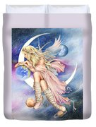 Planets Of The Universe Duvet Cover