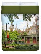 Plant Hall University Of Tampa Duvet Cover