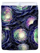 Plant Life At Night Duvet Cover