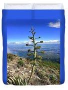 Plant On Volcano Slope Duvet Cover