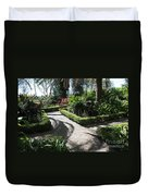 Plantation Garden Duvet Cover