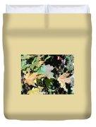 Planting Fields / Leaves Duvet Cover