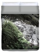Plants By The River Duvet Cover