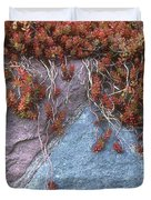 Plants On The Rock Two  Duvet Cover