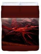 Plastic Bag 05 Duvet Cover by Grebo Gray