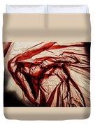Plastic Bag 09 Duvet Cover by Grebo Gray