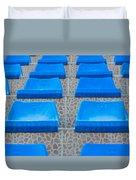 Plastic Sits Duvet Cover