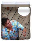 Plate Juggler 6689 Duvet Cover