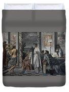 Plato's Symposium Duvet Cover