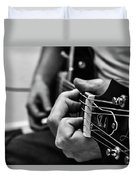 Play Me A Song Duvet Cover