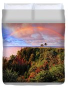 Play Time In Paradise Duvet Cover