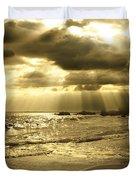 Playa De Oro Duvet Cover