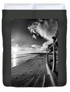 Playa Huequito Duvet Cover