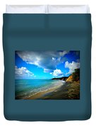 Playa Negra Duvet Cover