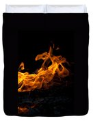 Playing With Fire Duvet Cover