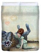 Playmate Duvet Cover