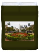 Plaza De Mayo In Buenos Aires-argentina  Duvet Cover