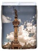Plaza Grande Duvet Cover