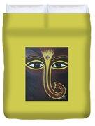 Pleasant Ganesha Duvet Cover