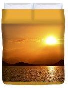 Pleasant Sunset Duvet Cover